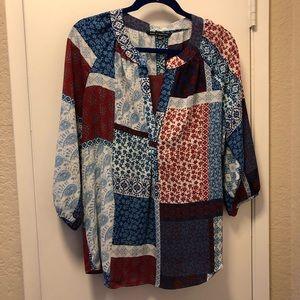 ✳️ Ladies 3/4 sleeve blouse (size 4-6)